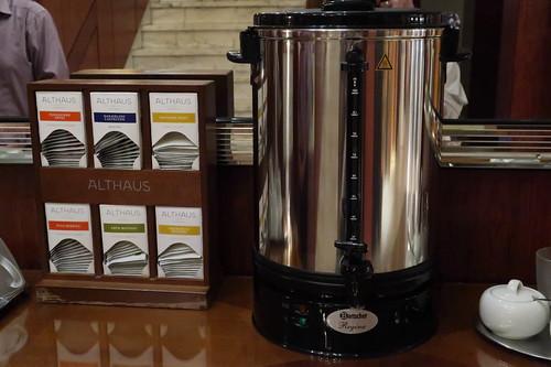 Tea for free (im Foyer des Marburger Hofs)