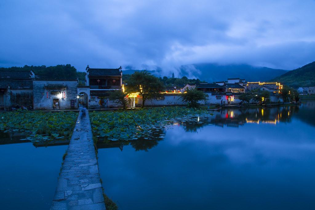 Hongcun (宏村)
