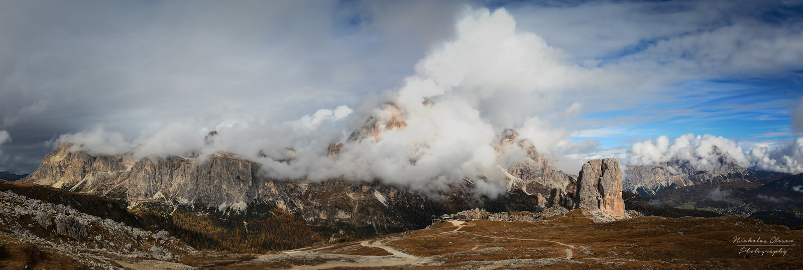 Dolomites | Cinque Torri Panorama