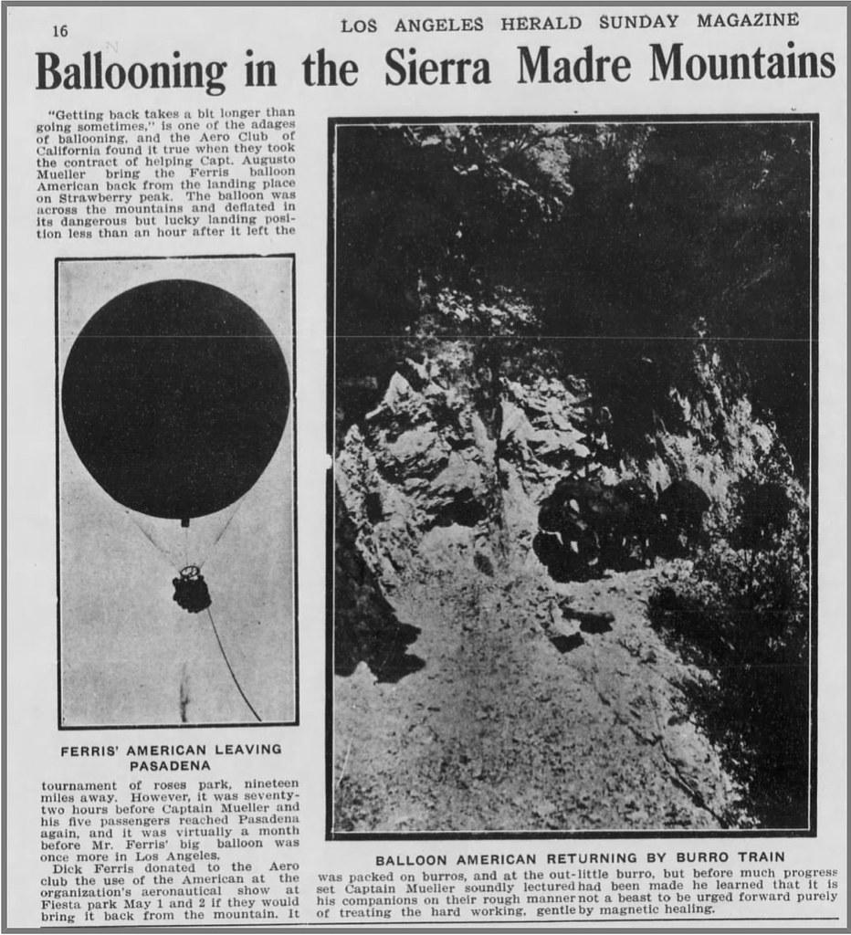 Strawberry Peak hot air balloon
