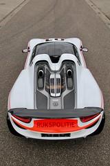 Porsche 918 Spyder Rijkspolitie