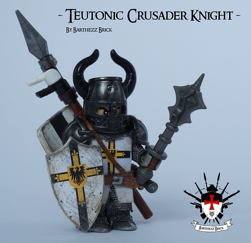 Teutonic Crusader Knight By Barthezz Brick 1 | by Barthezz Brick