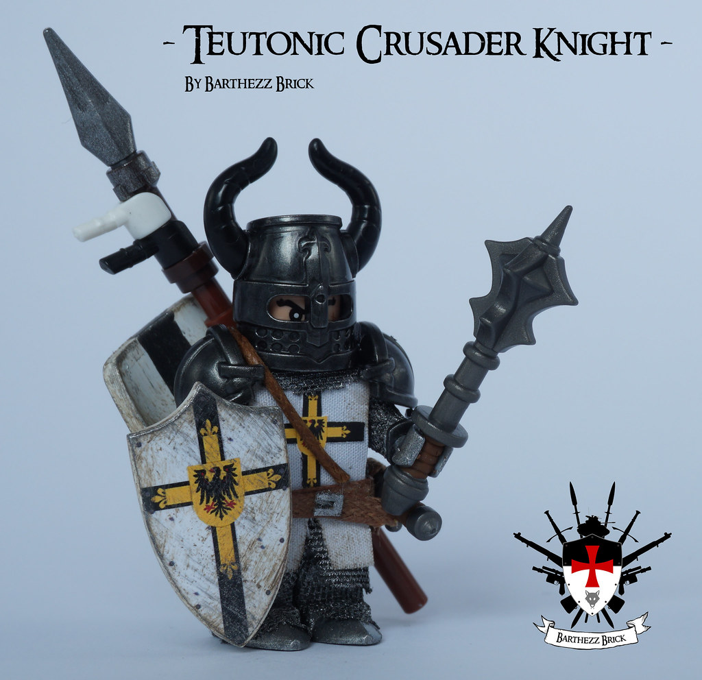 Teutonic Crusader Knight By Barthezz Brick 1