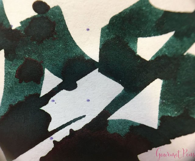 Ink Shot Review Diamine Anniversary Dark Forest @AppelboomLaren 10