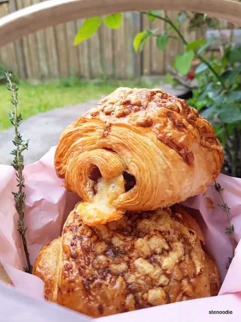 """Pork Belly & Cheddar"" Croissant"
