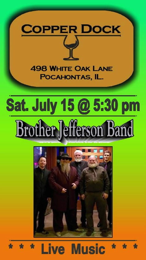 Brother Jefferson Band 7-15-17