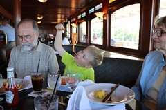 How to eat spaghetti on a boat