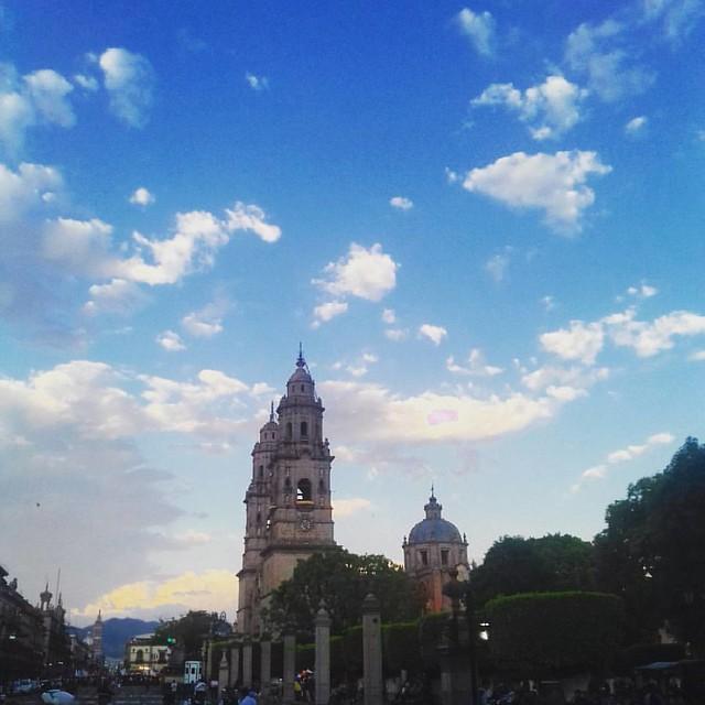La ciudad más bonita. #morelia