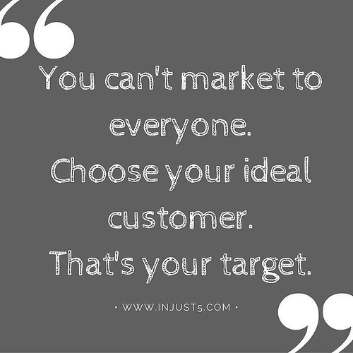 Don't try to be everything to everyone #businesstips #smallbizlife #pin