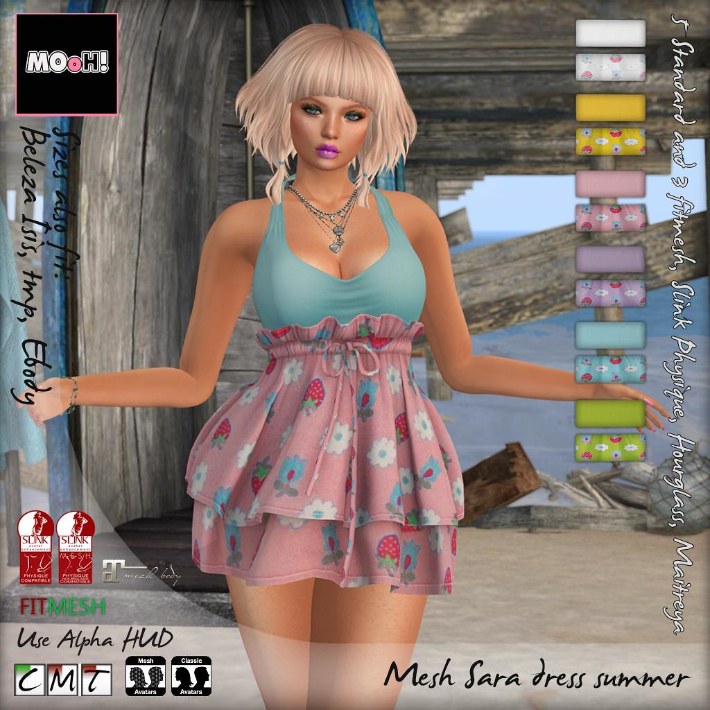 Sara dress summer - SecondLifeHub.com