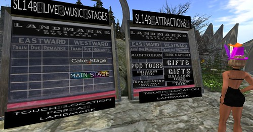 Still time to visit SL14B by Tiina Twine