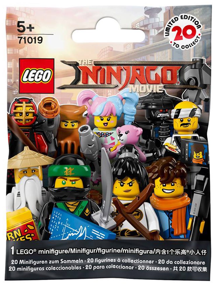 The LEGO Ninjago Movie Collectible Minifigures Series 71019