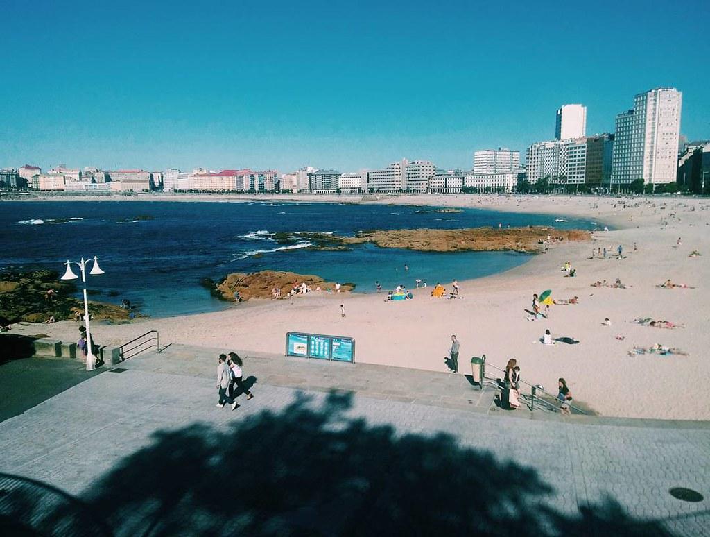 Tarde en la playa. Fotos de domingo 2017. 27/53. #fotosdedomingo_2017 #vsco #photography #Coruña #riazor #phonephoto