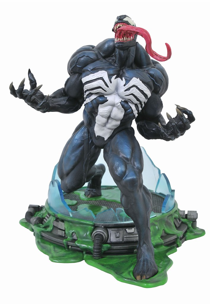 Diamond Select Toys Marvel Premier Collection 系列【猛毒】Venom 場景雕像作品