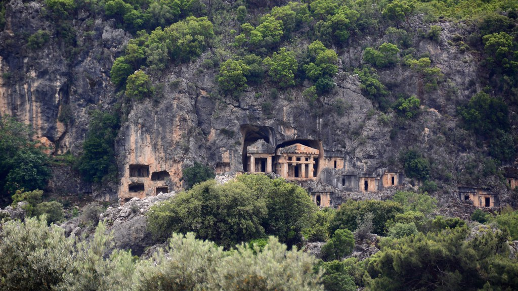 PINARA Ancient Lycian City. Fethiye/Turkey.