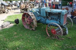 Pairi Daiza Austin Tractor