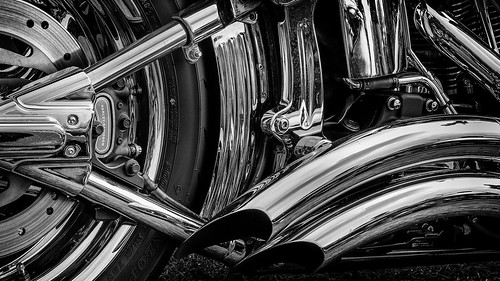 Harley Davidson Exhaust Pipe