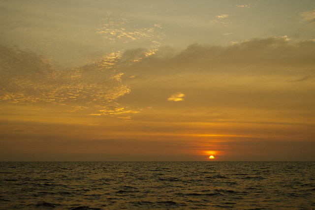 Serene Tonle Sap Sunset