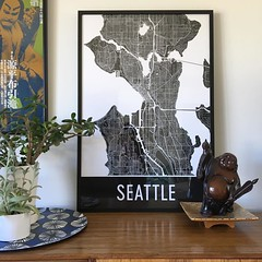 Help! This lovely company sent me this great map poster and now I can't find the email with their name to give them credit. Look familiar to anyone?