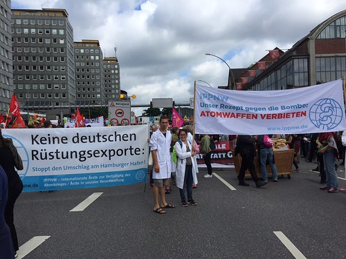 G20-Gipfel Protest der IPPNW