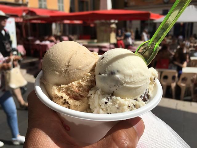 Tiramisu and Stracciatella ice cream - Fenocchio