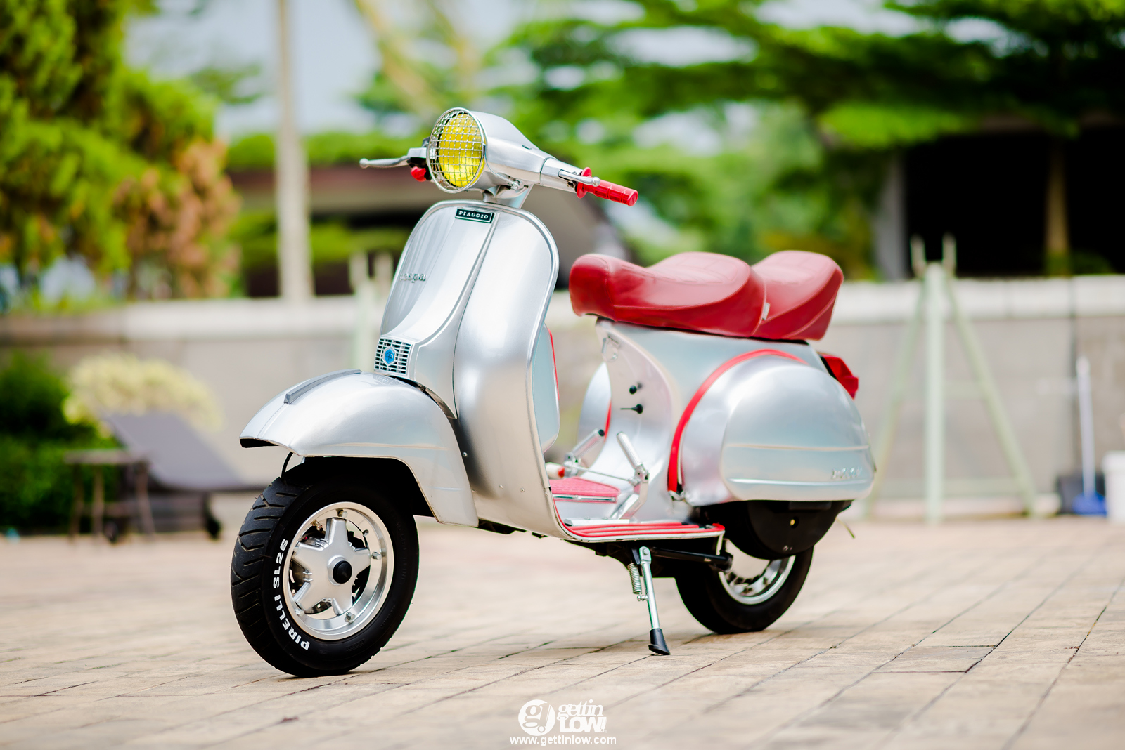 GETTINLOW BimaBunchs Fully Restored 1978 Piaggio Vespa PX MK1