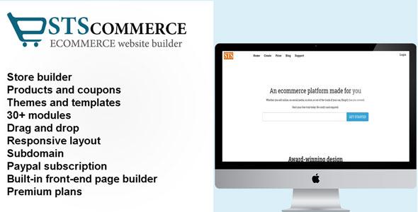 STSCommerce – eCommerce site builder