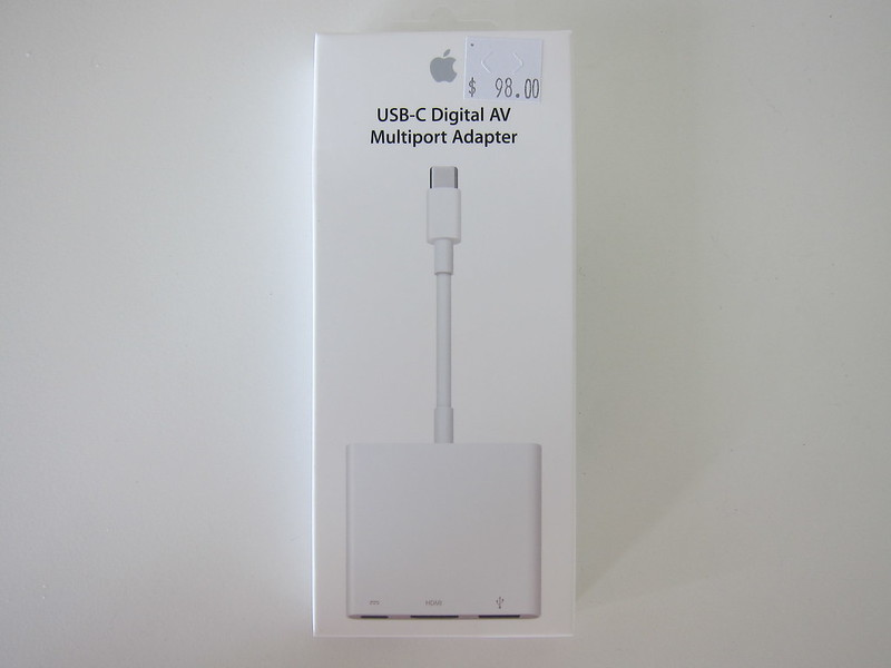 Apple USB-C Digital AV Multiport Adapter - Box Front