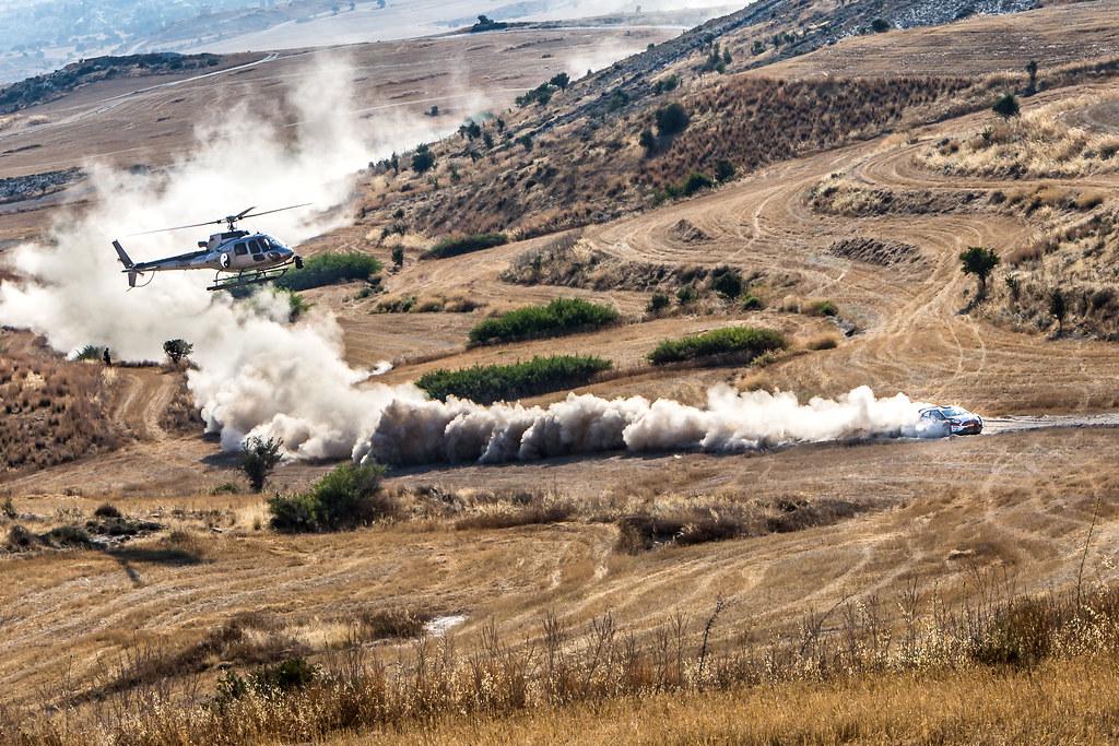 02 KAJETANOWICZ Kajetan (pol) and BARAN Jaroslaw (pol) LOTOS RALLY TEAM FORD FIESTA R5 action during the 2017 European Rally Championship ERC Cyprus Rally,  from june 16 to 18  at Nicosie, Cyprus - Photo Thomas Fenetre / DPPI