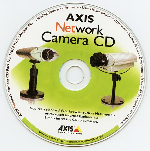 Axis Network Camera CD-ROM (Axis Communications) (2000)