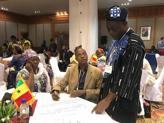 Séminaire parlementaire de 2017 au Burkina Faso