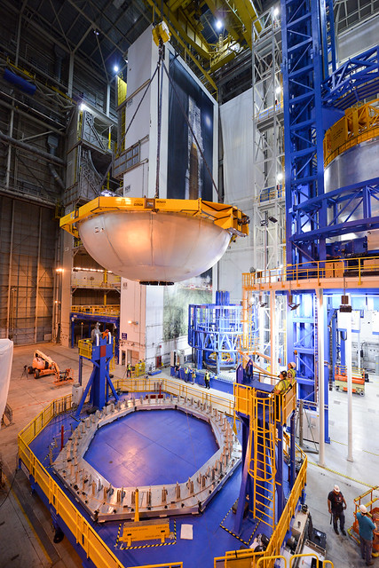 SLS Core Stage Production Continues for Rocket's First Flight