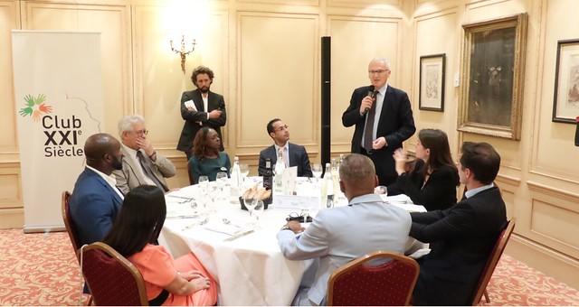 Club XXIe Siècle // Dîner débat autour de Jean-Bernard Lévy