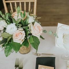 Soft colors for this Malibu wedding.