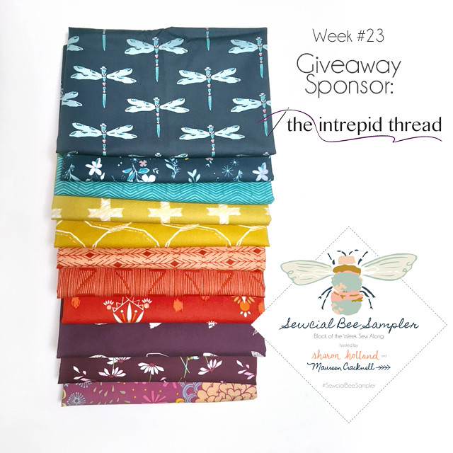 A Sewcial Bee Giveaway with the Intrepid Thread!