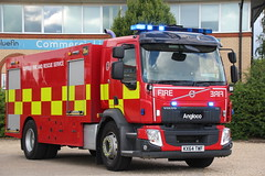 Suffolk Fire and Rescue Service Volvo FL Water Carrier