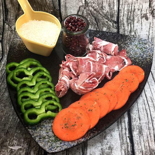 鮮蔬清燉涮羊肉