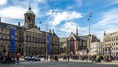 Royal Palace & Nieuwe Kerke of Amsterdam