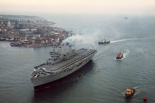 HMS Illustrious, 18/06/1982 South Shields