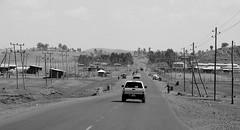 Sululta (Ethiopia) - Highway to Bahir Dar