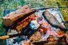 Cooking a Bombe Alaska at Tasting Australia
