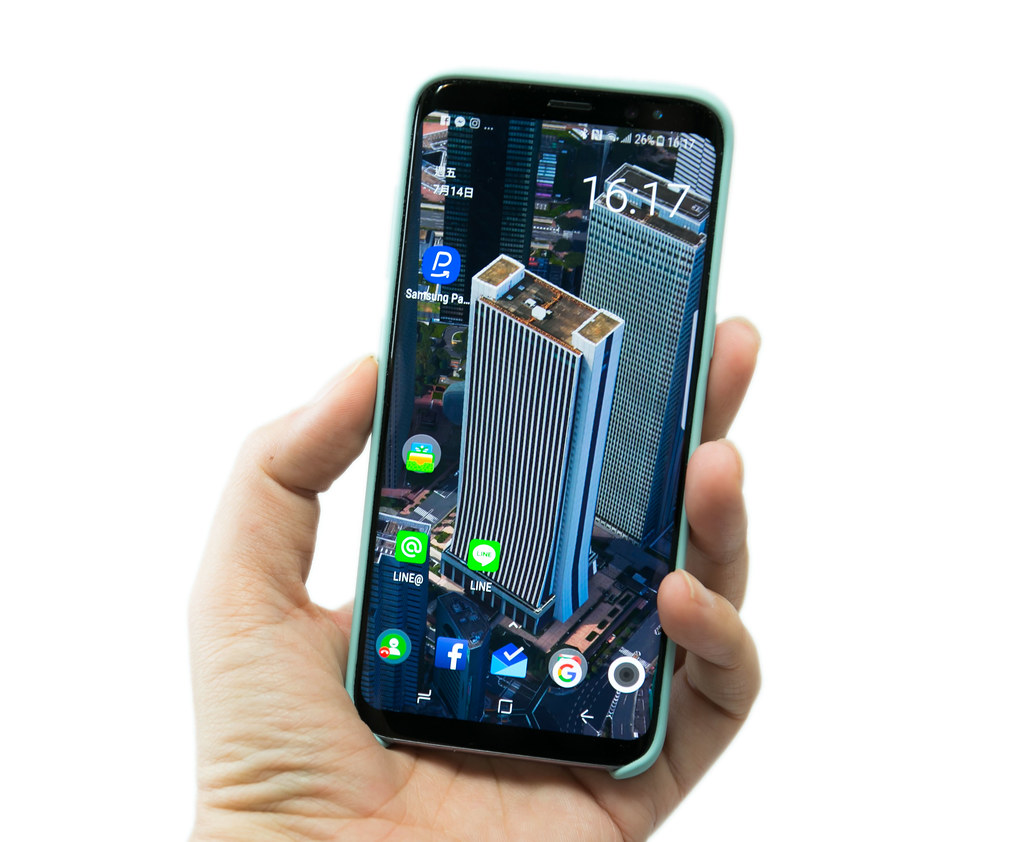 輕薄原廠保護 Galaxy S8『原廠矽膠材質薄型背蓋 – 藍色款』入手開箱分享 – 大圖清晰高清 @3C 達人廖阿輝
