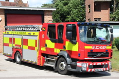 Suffolk Fire and Rescue Service Volvo FL Low Height Appliance