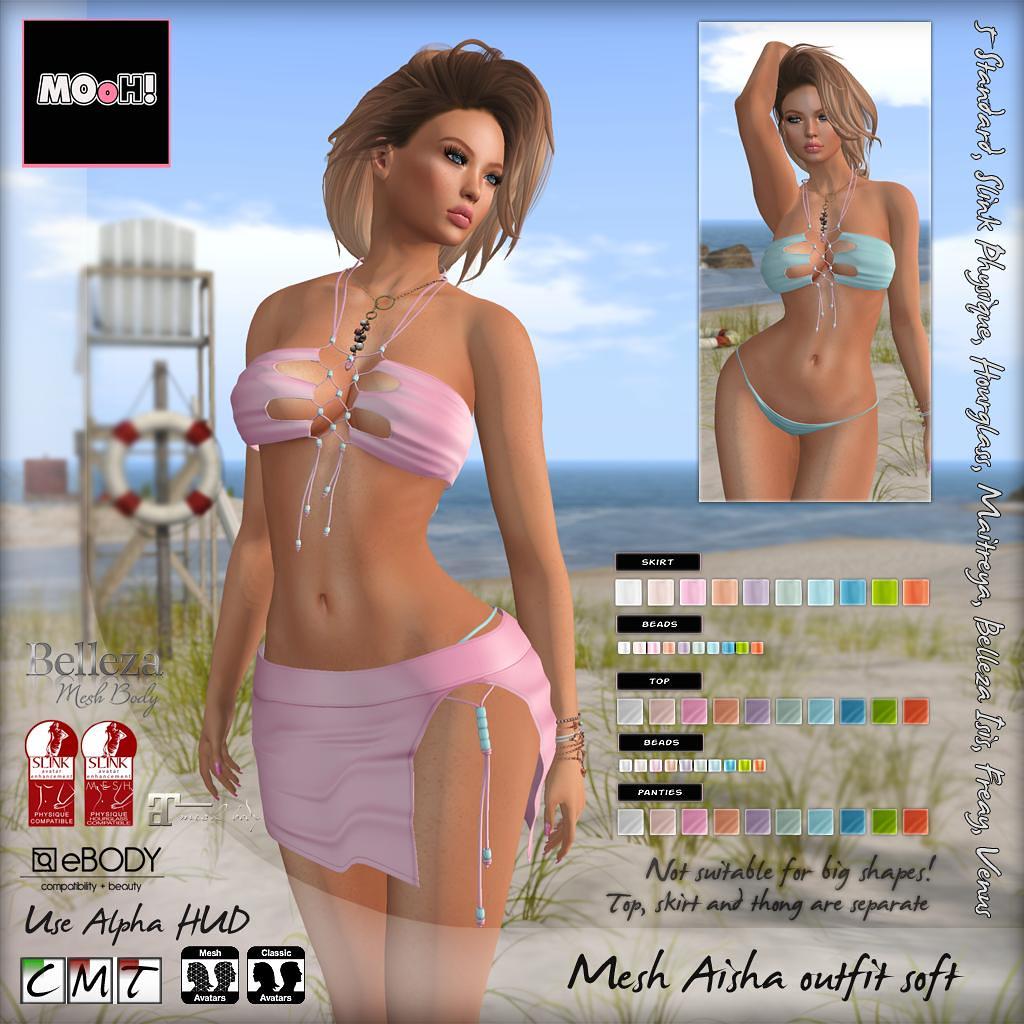 Aisha outfit Soft - SecondLifeHub.com
