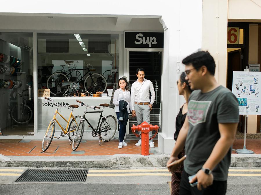 Singapore Engagement Session Photographer