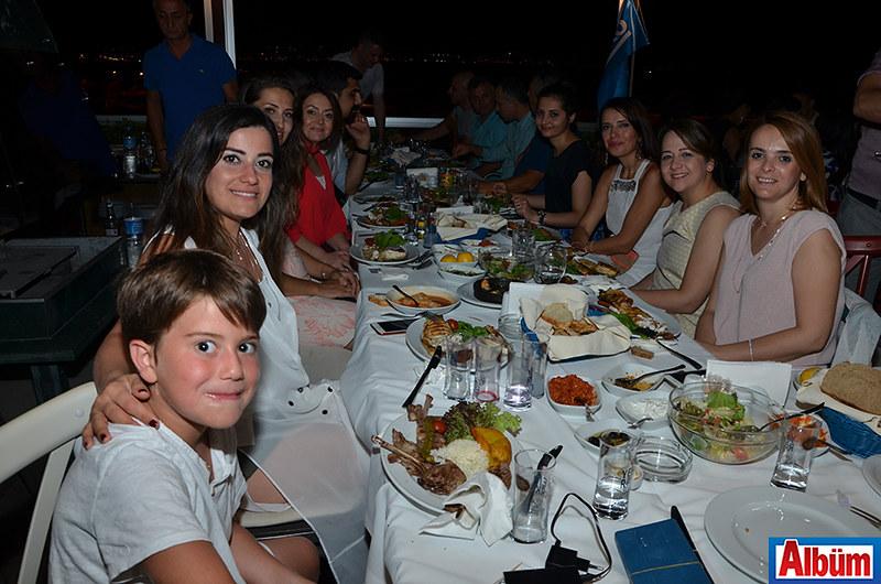 SABAŞ ailesi yemekte buluştu