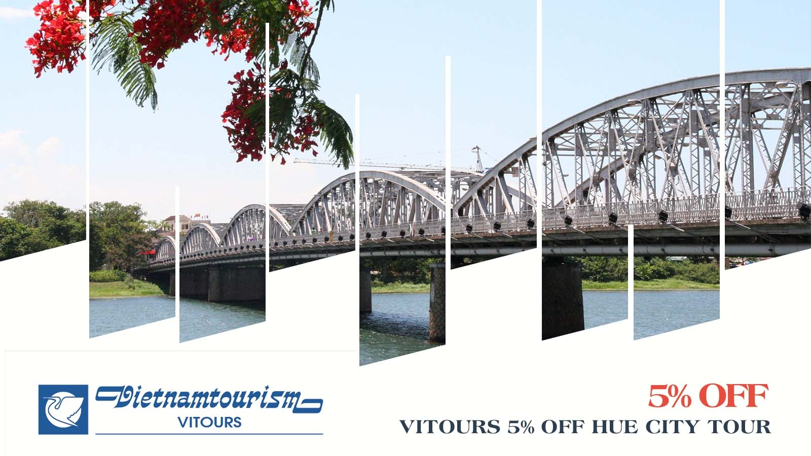 Vitours 5% OFF Hue City Tour 1