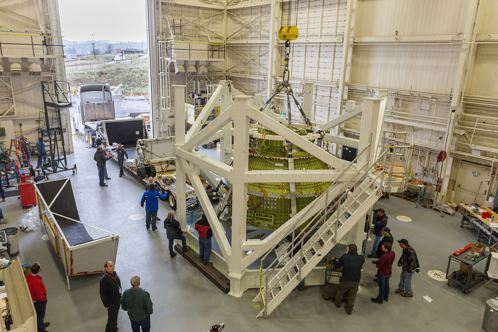 Orion Structural Test Article at Structural Test Lab