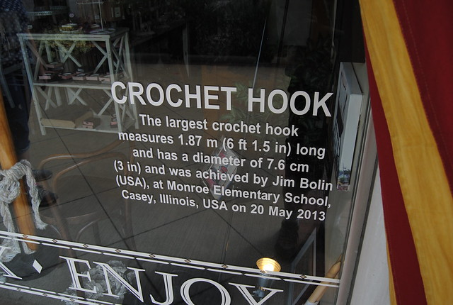World's Largest Crochet Hook, Casey, IL