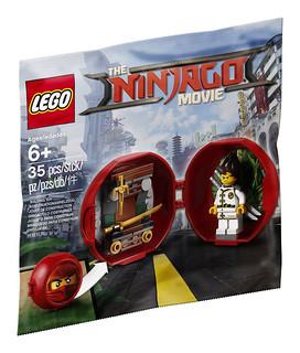 LEGO 旋風忍者電影系列 蛋形Polybag 曝光!!忍者武器架的設計很讚呢~